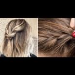 Красиви прически за къса коса- кой каза, че не можело (СНимки)