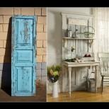 Старите врати заживяват втори живот като тоалетка, закачалка или маса-уникат - вижте само, страхотни са! (Снимки):