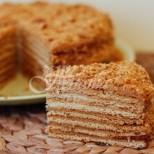 Класическа медена торта- лесни рецепти