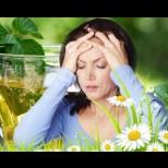 При мигрена и главоболие - Билкови средства, които доказано помагат и сами можете да си ги приготвите