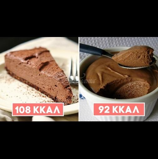 4 диетични шоколадови десерти, с които може да се поглезим по всяко време