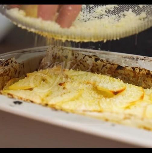 Ябълков кекс- разкошно попълнение за един прекрасен есенен уикенд