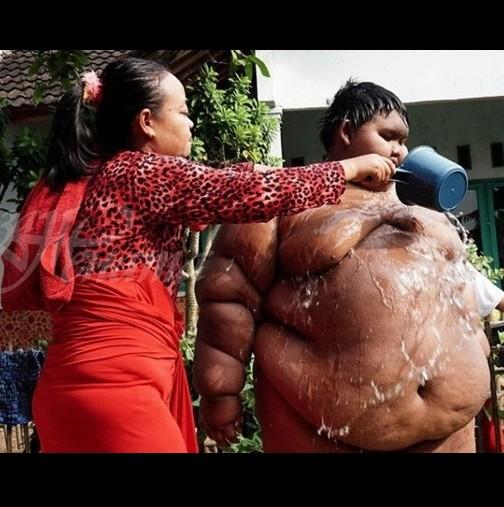 Спомняте ли си най-дебелото момче в света, което тежеше 192 кг.? Ето какво се случва с него! (снимка)