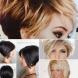 Прическа боб 2019-2020 за чуплива коса на етажи-Най-популярните идеи