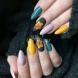 Есенни листа оживяват върху ноктите - 23 стилни варианта: