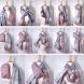 100 начина за връзване на шал в студеното време-Всяка ще открие своя начин