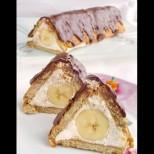 1 банан, пакетче бисквити и крема сирене - цяла седмица все него правя за десерт. Толкова вкусно, че няма как да ти омръзне: