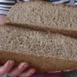 Домашен черен хляб без мая и с кисело мляко- ще бъде готов точно за час, нискокалоричен и много вкусен