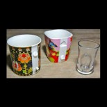 Старите чаши блеснаха в нова светлина- как да използваме счупените или напуканите съдове, страхотна идея
