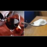 В ресторанта винаги пускам щипка сода в чашата с вино - след минутка вече знам, дали са ми пробутали менте:
