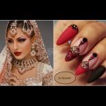 Нокти на арабска принцеса - 23 уникални маникюра в ориенталски стил, истински бижута само за ценители (Снимки):