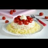 """""""Свекървина салата"""" - рецептата е от свеки, изпълнението от мен, а всички у дома я обожават! И има само 112 калории:"""