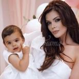 Дъщеричката на Преслава обра точките с тази снимка - вижте колко е пораснало малкото копие на мама (Снимка):