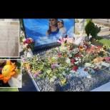 Мистериозно писмо се появи на гроба на застреляната Дарина дъщеричката ѝ Никол