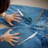Идеи какво да направим от старите дънки (Галерия)