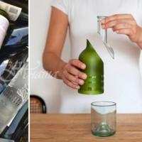 Гениални идеи за декорация у дома от стъклени бутилки (Галерия)