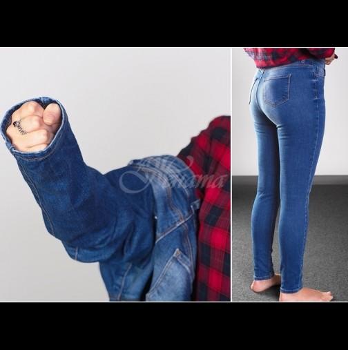 Приятелката ми не стъпва в пробна, а дънките винаги ѝ стоят перфектно - прави точно 3 движения с ръце и знае дали ще ѝ станат!