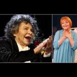 """""""Вено, идвам при тебе!"""" - Стоянка Мутафова затрогващо към покойната Невена Коканова (Снимки):"""