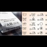Супер полезна таблица с АБСОЛЮТНО всички символи от етикета на дрехите - кое как да перем, сушим, гладим, за да няма изненади после: