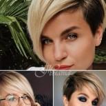 Стилни прически за къса коса 2020