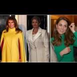 Деси Радева блести на срещата на НАТО редом до Мелания и Кейт Мидълтън - коя е най-елегантна? (Снимки):