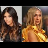 Звездите диктуват модата в косите - най-хитовите зимни отенъци по примера на Холивуд (Снимки):