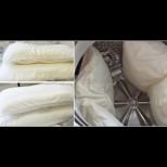 Откакто пера възглавниците в пералнята, блестят от чистота - ето какво им слагам, за да са снежно бели и пухът да не се степва: