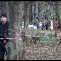 Убитият в София бил с отрязана мъжественост-Снимка то мястото на убийството