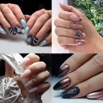 48 стилни идеи за впечатляващ Новогодишен дизайн на ноктите 2020 г.