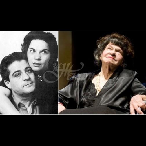 Полагат Стоянка Мутафова до любовта на живота ѝ - днес се сбогуваме с нея в Сатирата (Снимки):