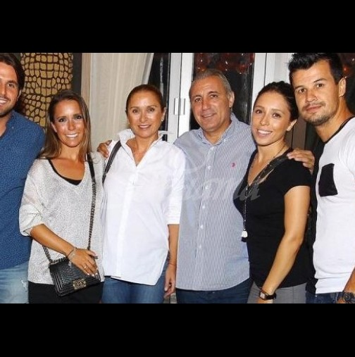 Бившият зет на Стоичков бързо забрави дъщеря му-Снимка с новата, която прилича на Христина