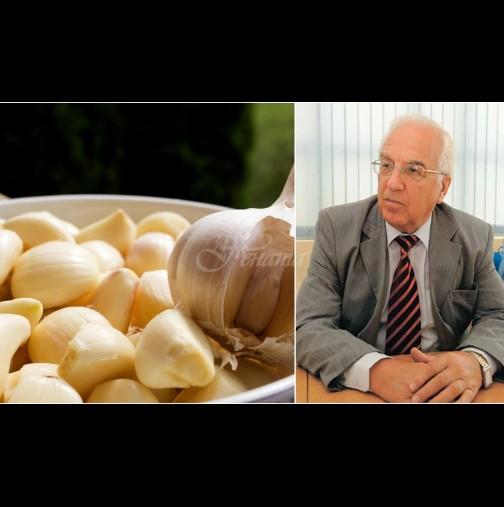 Проф.Мермерски: Чесънът е лек срещу 200 болести! Скилидка на ден пази от инфаркт и инсулт, дарява сексуална мощ