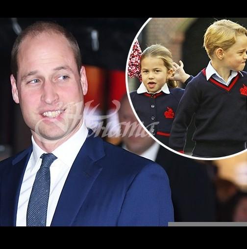 Уилям със странни новини за малката Шарлот и брат ѝ Джордж-Това никой не го очакваше!