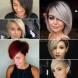 Какви прически ще бъдат на мода през 2020-Прави прически със скосени бретони