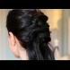 Как да си направим прическа кръстосана опашка (видео)