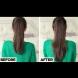 Хитър трик как да вържем косата си така, че да изглежда по-дълга и с повече обем