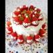 Забавна идея за коледен десерт с ягоди