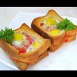 Тези пълнени сандвичи са ми коронната рецепта за закуска - стават разкошни с каквото има в хладилника: