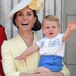 Кейт Мидълтън разкри първите думи на най-малкия си син принц Луи