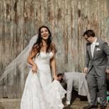 Млада жена постигна нещо равносилно на чудо преди сватбата си, когато тежеше 120 кг