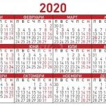 Ето всички почивни дни през 2020 година-Вече е ясно кога ще се почива и по колко дни