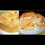 Домашна медена торта с орехи - крехко изкушение с вкус на медена ореховка: