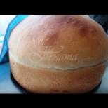 Мързеливо хлебче-душичка на тиган - хрупкава румена коричка и пухкава сърцевина. По-вкусен от този в хлебопекарната: