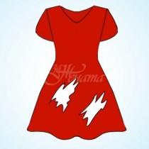 Колко дупки има в тази рокля? Не бързайте да отговаряте!
