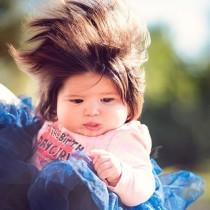 Вижте най-сладкото дългокосо бебе, което изумява всички! 8 месечната Габи е като Рапунцел от приказките!