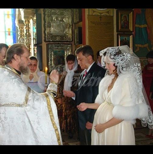 Може ли бременни жени да имат църковен брак