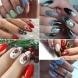 Зимна приказка на ръцете ви-Красиви маникюри украсяват коледните празници