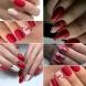 Червен маникюр - Винаги изглежда празнично и елегантно-Особено в комбинация с тези тонове!