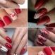 Червени нокти - винаги празнични и елегантни