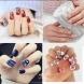 25 стилни идеи за изтънчен и впечатляващ Новогодишен дизайн на ноктите 2020 г.